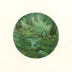 "Nicole Gustafsson, ""Moss Grove Gatherers"""
