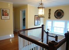 Another view of upstairs hallway