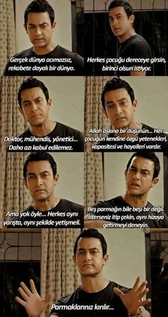 Her Çocuk Özeldir (Taare Zameen Par) Movie Quotes, Book Quotes, Karma, Taare Zameen Par, Motivation Sentences, Lines Quotes, Happiness Challenge, Aamir Khan, Movie Lines