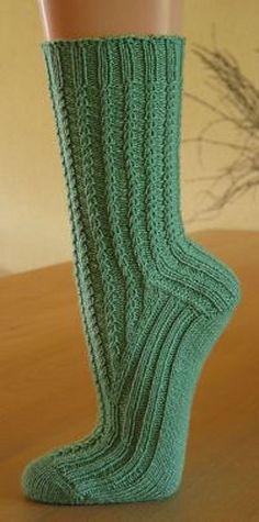 Ravelry: Big Basin pattern by Rebecca A. Knitting Designs, Knitting Patterns, Knitting Ideas, Free Knitting, Knitting Socks, Drops Design, Big Basin, Crochet Socks, Knit Socks