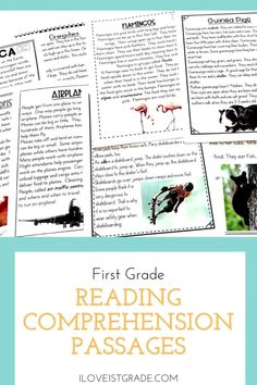 Leveled Reading Passages, First Grade Reading Comprehension, Teacher Helper, Common Core Reading, Thing 1, Great Schools, Comprehension Questions, Reading Resources, Reading Levels