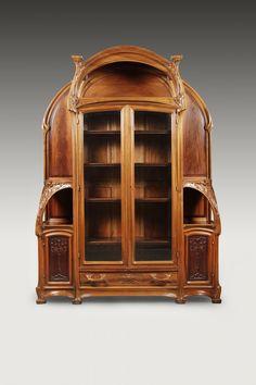 ** HECTOR MICHAUT (1874 – 1923) Exceptionnel et somptueux ensemble Art Nouveau.