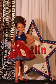 outfit of choice pageant ideas baby ~ outfit of choice pageant ideas . outfit of choice pageant ideas baby Glitz Pageant Dresses, Little Girl Pageant Dresses, Girls Fancy Dresses, Pageant Wear, Girls Pageant Dresses, Beauty Pageant, Cute Dresses, Patriotic Dresses, Patriotic Outfit