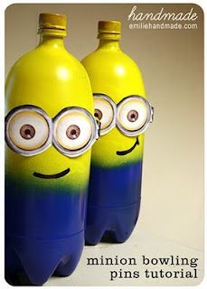 dispicable me minion bowling