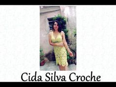Crochet Summer Dresses, Prom Dresses, Formal Dresses, Crochet Tops, Mary, Youtube, Fashion, Blouse Dress, Crochet Dresses