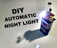Automatic night light is a device with turns on light when there is darkness in the surrounding.Its a portable version of automatic street lights. In this I used LDR...