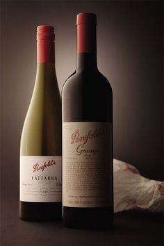 Penfolds Wine - oh the Grange...(I really think this one is just ordinary, it doesn't grab my attention)
