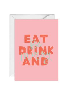 Eat Drink and Be Merry Merry Little Christmas, Merry Xmas, Christmas Cards, Graphic Design Trends, Graphic Design Inspiration, Christmas Typography, Winter Sale, Christmas Projects, Pretty Pictures