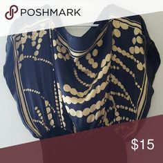 Beautiful top Silk with cotton waist Tops Tunics