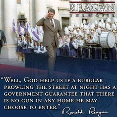 Reagan wisdom is never dated.--- I really don't have a board for this stuff so it's going here.
