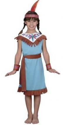 Indian Costumes  sc 1 st  Pinterest & How to Craft a No-Sew Indian Princess Dress Costume | Itu0027s Fall Y ...