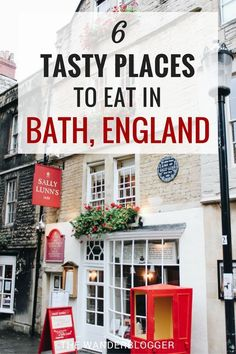 6 Tasty Places To Eat In Bath, England Looking for tasty places to eat in Bath, England? Here are 6 delicious restaurants and cafes in Bath that are easy on the budget, too! London England Travel, Bristol England, London Travel, Christmas In England, London Christmas, Bath Uk, Delicious Restaurant, Voyage Europe, Things To Do In London