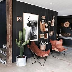 Fantastic Free modern Western Decor Popular North western beautifying is not hard to attain pertaining to all the rooms inside your home. It can be accomplished by My Living Room, Home And Living, Living Room Decor, Living Spaces, Bedroom Decor, Cozy Living, Sweet Home, Western Homes, Western House Decor