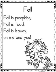 This week I will be beginning a poetry notebook in my kindergarten classroom. We will use each of our poems as a shared...