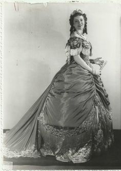 "Bidu Sayao Brazilian Soprano in ""La Traviata"" Original Vintage 1940 Portrait | eBay"