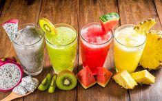 ovocná šťava Shake Recipes, Smoothie Recipes, Juice Recipes, Easy Healthy Dinners, Easy Dinner Recipes, Stay Healthy, Easy Recipes, Best Post Workout Shake, Dieta Detox