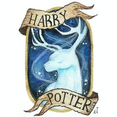 "97 Likes, 3 Comments - Epic Girl (@joana_nadia) on Instagram: ""Expecto Patronum [1/3] . . . Harry Potter's Patronus Charm . . . #HarryPotter #fanart #patronus…"""