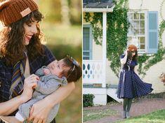 Wardrobe Wednesday   Virginia Dare Dress Co. Motherhood Style + Giveaway - Tori Watson Green Tights, Post Baby Body, Finding Joy, Baby Gap, Dares, My Girl, Wednesday, Virginia, Giveaway