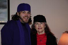 My mom and my son. Christmas 2011