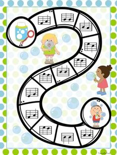 Spring Music Game Bundle: 5 no prep board games! Piano Games, Piano Songs, Music Games, Music Songs, Music Lessons For Kids, Piano Lessons, St Patrick's Day Music, Music Classroom, Classroom Ideas