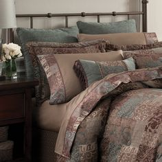 Croscill Galleria Chocolate Bedding Collection Collections