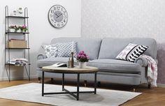 Avskalad, stilren romantik. Howard soffa, FERRYHILL