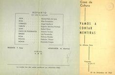 """""""Vamos a contar mentiras"""" de Alfonso Paso por el grupo Aspyt en la Casa de Cultura Cuenca Diciembre1965 #Cuenca #Teatro #CasaCulturaCuenca"""