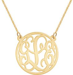 Monogram Necklace Hand Made Custom Monogram Initials Personalized K Party Gold $44.99