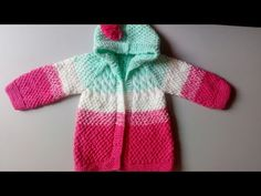 Canesú redondo dos agujas #1 primera parte - crónicas del tejido - YouTube Knitting For Kids, Baby Knitting, Crochet Baby, Knit Crochet, Knitting Videos, Crochet Clothes, Barbie Dolls, Little Ones, Kids Outfits