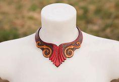 Leather Leyawiin necklace