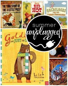 Fractured fairy tales for all ages http://www.everyday-reading.com/2014/06/summer-unplugged-fractured-fairy-tales.html