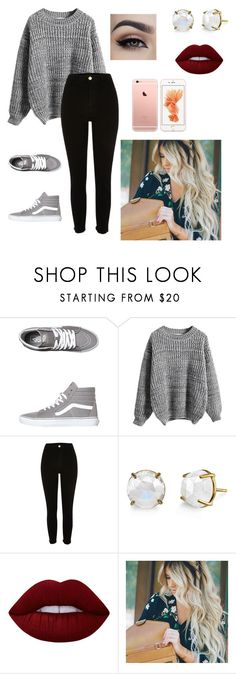 """Untitled #58"" by paigevjacobs on Polyvore featuring Vans, WithChic and Lime Crime"