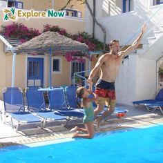 One of the best things about extended travel where daily work is an afterthought, is the ability to have time available for your kids. What's the point having them if you can't ever spend quality time with them? What's The Point, Santorini Greece, Quality Time, Have Time, Europe, Explore, World, Kids, Travel