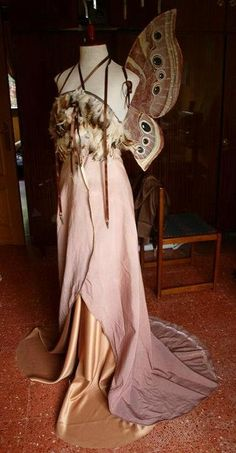moth fairy dress
