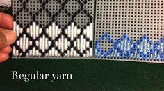 How to make plastic canvas coasters: Diamond Stitch