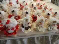 Un esercito di cupcake con facciana!