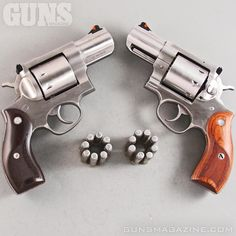 Is 8 enough?  Ruger's 6+2 .357 Magnum Redhawk packs a portable, powerful punch. Reloads are quick with 8-round moon clips. More in the April 2018 issue of GUNS Magazine.