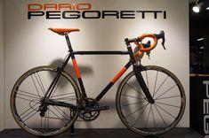 Dario Pegoretti custom painted hand built steel bicycles from Interbike 2013