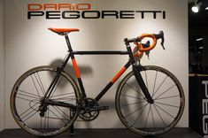 Dario Pegoretti custom painted hand built steel bicycles from Interbike 2013
