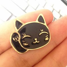 Now available on our store Cute Lucky Fortun... http://siafashionshop.myshopify.com/products/cute-lucky-fortune-cat-enamel-pin?utm_campaign=social_autopilot&utm_source=pin&utm_medium=pin