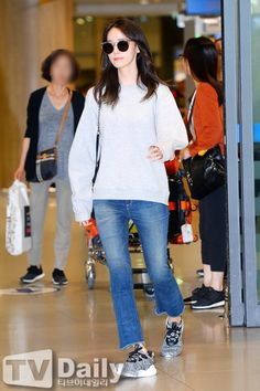 160914 Yoona | Incheon Airport from Spain