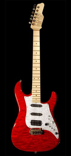 James Tyler Guitars Studio Elite Transparent Red