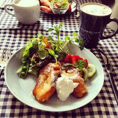 .@amimao | 今朝はフレンチトーストで朝ごはん☻ 今回は豆乳で焼いてみました たいてい朝ごは... | Webstagram