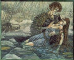 "Angus Og, Celtic (Irish) God of youth, love, and beauty. One of the Tuatha De Danaan, name means ""young son"". He had a harp that made irresistable music, and his kisses turned into birds that carried messages of love. His brugh, underground fairy palace, was on the banks of the Boyne River."