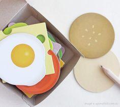 Message Burger $34.00