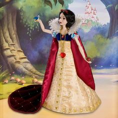 Exclusive Limited-Edition Deluxe Snow White Doll - 17''