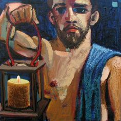 Joseph #1 | Wayne Forte St Joseph, Oil On Canvas, Painting, Art, Icons, Saint Joseph, Art Background, Painting Art, Kunst