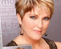 Image result for Plus Size Short Hairstyles for Women Over 40