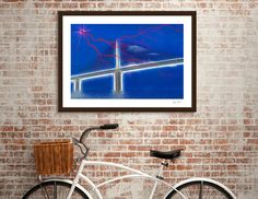 Discover «Skyway Fantasy», Limited Edition Fine Art Print by Glink - From $29 - Curioos