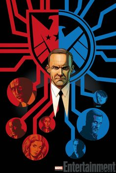Agents of SHIELD - Episode 2.16 - Afterlife - Coulson's SHIELD versus Real SHIELD art